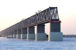 Движение по первому железнодорожному мосту между Россией и Китаем начнется в августе