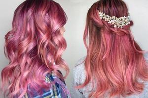 Привлечет внимание и сделает ваш образ более ярким и привлекательным: выбираем идеальное окрашивание в розовых тонах
