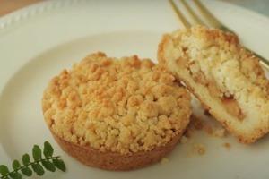 Что будет, если совместить яблоки и песочное печенье: готовим сочный десерт для приятного чаепития