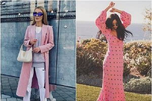 От нежно-розового до яркой фуксии: подборка весенних образов в женственных оттенках