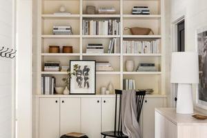 Должно быть несколько источников света: дизайнеры Аббе Фенимор и Молли Махмер-Весселс дали советы, как оборудовать домашнюю библиотеку