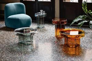 Журнальные столики из муранского стекла: итальянские традиции в новом виде