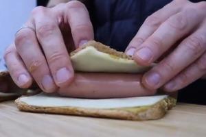 Бутерброд, вдохновленный хот-догом: запекаем в духовке и наслаждаемся сытным перекусом