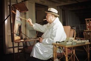 """Редкую картину """"Кувшины и бутылки"""" Уинстона Черчилля продали на аукционе в Великобритании за 1,3 миллиона долларов"""