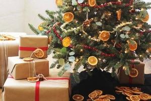 Сухофрукты, лоскуты и шишки: 5 идей для украшения елки без затрат