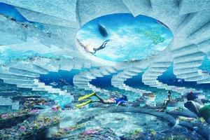 Архитектурная фирма спроектировала подводный скульптурный парк The ReefLine для Майами-Бич: как он выглядит