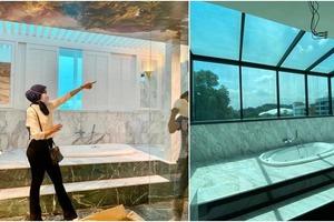Иностранная актриса похвасталась ремонтом в своей ванной комнате, но специалист с первого взгляда на потолок выявил неверное дизайнерское ре