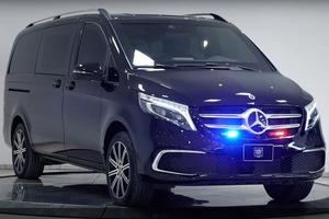 Усиленные механизмы раздвижных дверей: канадская компания презентовала бронированный Mercedes-Benz V-Class