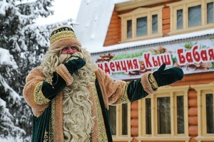 В Казани татарский Дед Мороз ищет работу. Кыш Бабай отметил, что имеет антитела к коронавирусу
