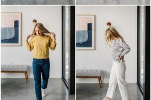 Джинсы скинни, укороченные, прямые и белые: образы, которые будут всегда смотреться хорошо, даже если сама модель не так популярна, как рань