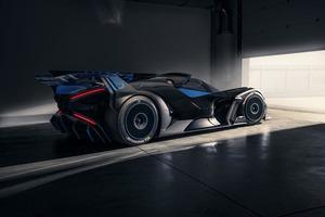 Изменяемая внешняя оболочка: Bugatti представляет первые в мире аэротехнологии для нового гиперкара Bolide
