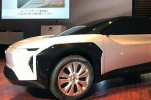 Анонсирован первый полностью электрический автомобиль Subaru