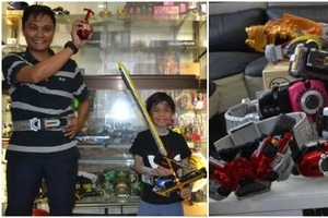 Нестандартное хобби стоимостью больше семисот тысяч рублей: тридцатиоднолетний мужчина собирает игрушечные пояса популярного японского супер