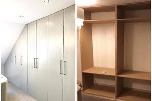 Сами сделали, и вышло гораздо дешевле: пара смастерила гардеробный шкаф по инструкциям из видеоуроков на YouTube