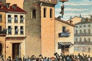 Первый парашютный прыжок был совершен 237 лет назад: 26 декабря 1783 года Луи Ленорман впервые прыгнул с парашютом с высоты