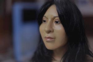 В Эль Парайсо реконструировали внешний вид девушки, возможно, храмовой жрицы из эпохи докерамики