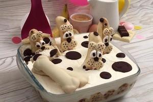 Я обожаю собак, поэтому и тирамису готовлю тематический: делюсь рецептом бананового десерта с милыми песиками-далматинцами