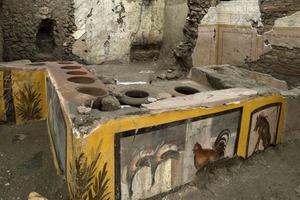 Они любили закусить вне дома: при раскопках закусочной быстрого питания в Помпеях были исследованы вкусы и предпочтения жителей древнего гор
