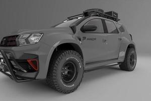 Немецкие тюнеры представили проект модифицированного кроссовера Renault Duster для бездорожья с 400-сильным двигателем