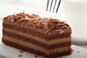 Рецепт насыщенного шоколадного кофейного торта со взбитыми сливками без муки