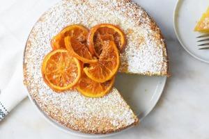 Впервые приготовила цитрусовый торт на оливковом масле. Удался на славу: рецепт