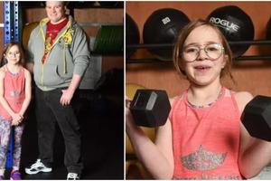 Она мечтает выиграть золото на Олимпийских играх: 10-летняя спортсменка открывает собственный тренажерный зал