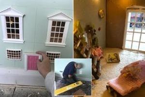 Креативная мама построила детям сказочный домик прямо в стене, и теперь оставляет им там тайные послания