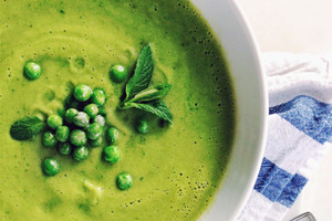 Отличная поддержка для желудка: после затяжных праздников готовлю для всей семьи суп из кабачков и нута