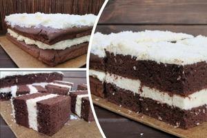 """Шоколадно-бисквитный торт """"Черный кокос"""" – десерт и для праздничного, и для семейного стола: рецепт"""