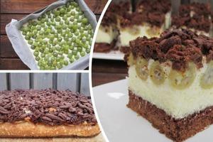 Кокосово-крыжовниковый торт делаю не только летом, но и зимой. Просто замораживаю для него ягоды