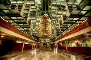 Библиотека Васконселоса в Мексике - одно из самых передовых, потрясающих воображение сооружений XXI века