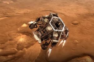 Главные космические события 2021 года: запуски ракет, миссия на Марс, адронный коллайдер и многое другое