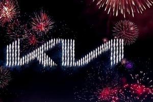 Kia официально представила новый логотип и слоган и установила мировой рекорд