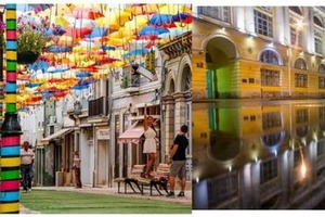 Голубая улица,улица парящих зонтиков и Зодчего Росси: уникальные городские улицы в разных уголках мира