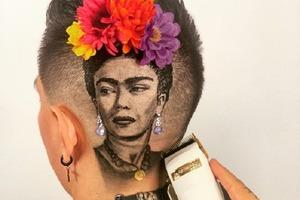 Художник, рисующий солью, теперь парикмахер, и его творения все так же потрясающе креативны