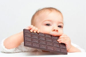 Не больше 5 грамм. Сколько шоколада можно давать ребенку (учитывается возраст и процент какао)