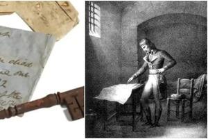 Аукционный дом Sotheby's выставил на продажу за 5500 евро ключ от камеры в тюрьме, где ушел из жизни Наполеон
