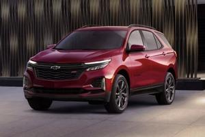 Chevrolet представил обновленные версии кроссоверов Equinox и Traverse