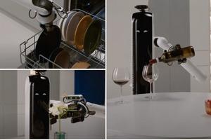 Разработан робот-дворецкий, который нальет хозяину вина и не только (видео)