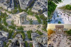 Париж превратит Елисейские поля в шикарный сад с детскими площадками и уютными кафе