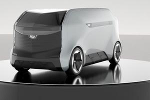 Cadillac готовится выпустить автобус в форме тостера: концепция самоходного автомобиля с более чем необычными формами