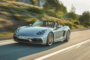 Porsche Boxster 25 2021 года: оригинальная ограниченная серия, посвященная 25-летию модели с мощностью в 394 л. с.