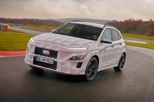 Kona N станет первым производительным кроссовером Hyundai с 4-цилиндровым двигателем с турбонаддувом и 8-ступенчатой коробкой передач DCT