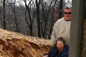 Сын сделал из старого подвала уютный люкс для своих старых родителей