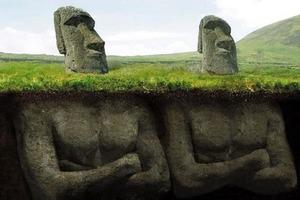 Что скрывали под землей каменные головы на острове Пасхи: реальная история