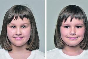 Один из детей на рисунке - мальчик, второй - девочка. Большинство людей ошибаются в выборе