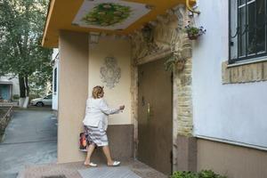 Грязный и серый подъезд житель Ростова-на-Дону превратил в настоящее произведение искусства