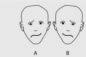 Какое лицо кажется более счастливым? Этот тест показывает, какое полушарие мозга у вас лучше развито