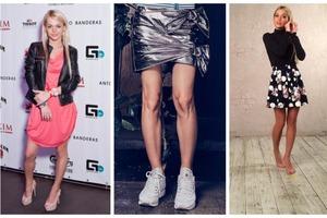 «Грудь колесом, ноги иксом»: российские звезды, которым стоило бы носить юбки подлиннее