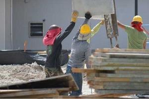 Начальник запретил строителям работать в шортах. Увидев их на следующий день, он открыл рот от удивления (фото)